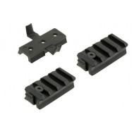 Rail Mount Set Per Elmetto Fast Emerson