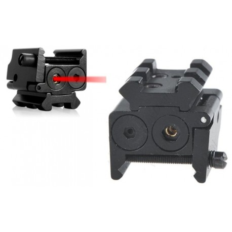 Laser Red Mini Attacco Weaver Royal