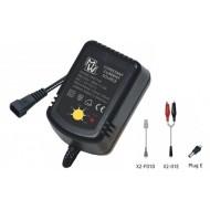 Caricabatterie 1.2V-12V Auto Ni-Cd/Ni-Mh Mw
