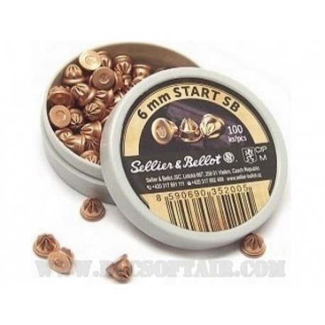 Cartucce a Salve 6mm Conf.100 Sellier&Bellot