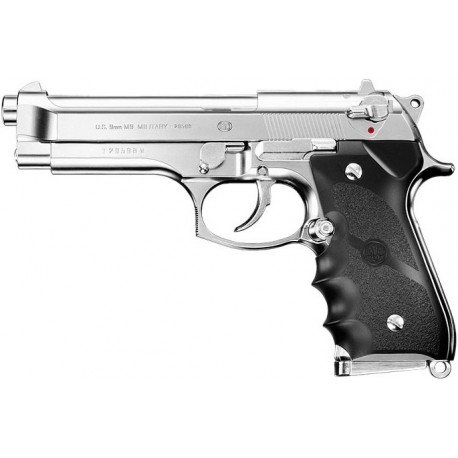 Pistola Beretta M9 Military Chrome Gas Tokyo Marui
