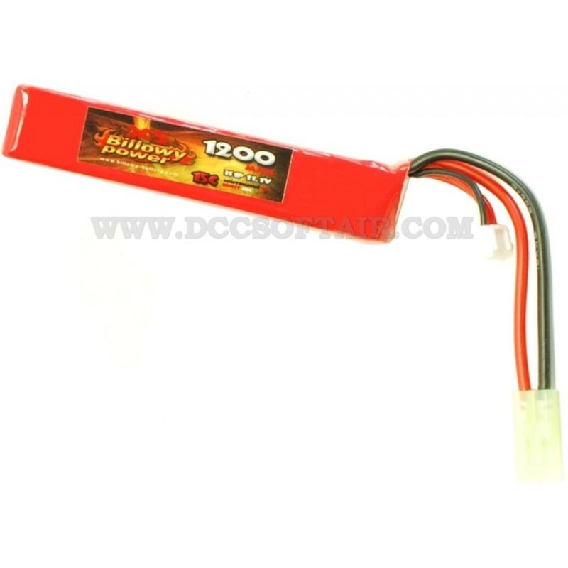 billowy 11.1  Batteria Li-Po 11.1V x 1200mAh 15C Billowy Power