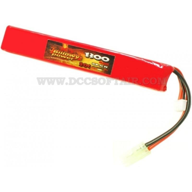 billowy 11.1  Batteria Li-Po 11.1V x 1300mAh 20C Billowy Power