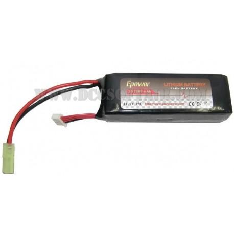 Batteria 11.1V x 2500mAh Lipo Epower