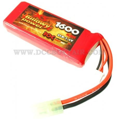 billowy power 7.4  Batteria Li-Po 7.4V x 1600mAh 30C Billowy Power