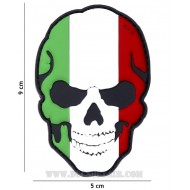 Patch 3D Pvc Teschio Italia 101