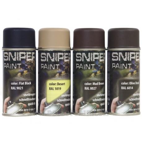 Bomboletta Spray Vernice Militare 150ml Fosco