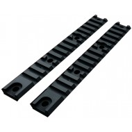 Coppia Slitte Rail Matt Black AM013/014 Airtech