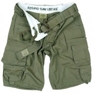 Short Stone Washed Con Cintura Kosumo