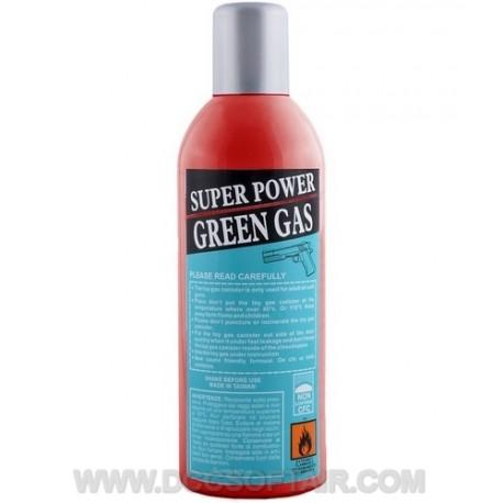 Bombola Di Gas Super Power 600ml Green Gas