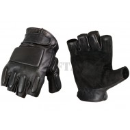 Guanti Phalanx Leather Half Finger Invader Gear