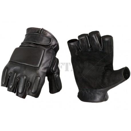 Guanti Phalanx Leather Half Finger Invader Gear