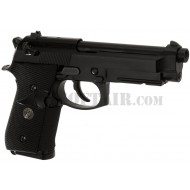 Pistola M9A1 Usmc Black Gas We