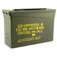 Cassetta Porta Munizioni M19A1 Cal.7.62 U.S. Military
