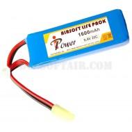 Batteria 9.9Vx1600mAh 20C Life IPower
