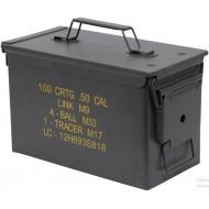 Cassetta Porta Munizioni M2A1 Cal.50 U.S. Military