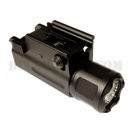 Torcia Pistol Light Tactical Led Quick Release