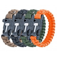 Bracciale Paracord 3 in 1 Survival