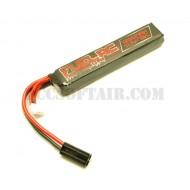 Batteria 11.1Vx1200mAh 15C Tubo M4 Lipo Fuel