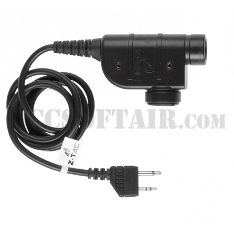 Z-Tac Z 125 zSilynx Releases Chest PTT Midland Connector