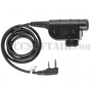 Z-Tac Z 125 zSilynx Releases Chest PTT Kenwood Connector