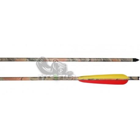 """Freccia In Alluminio 2219 20"""" Camo Per Balestra"""