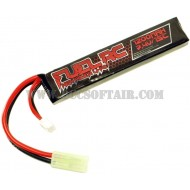 Batteria 7.4Vx1200mAh 15C Tubo M4 Lipo Fuel