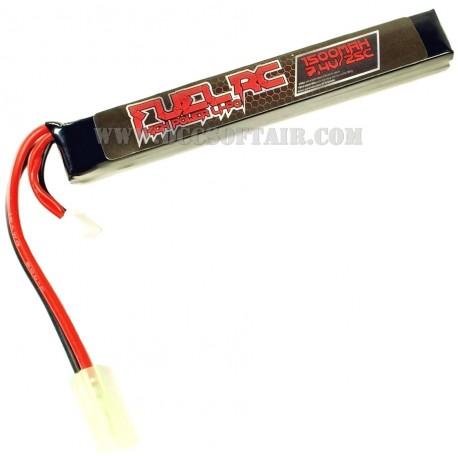 Batteria 7.4Vx1500mAh 25C Lipo Fuel