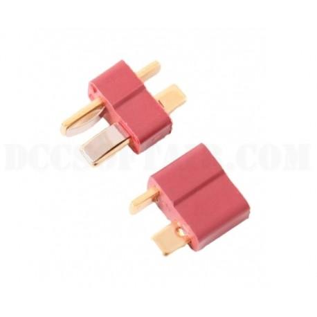 Coppia Connettori Deans T-Plug Duel Code