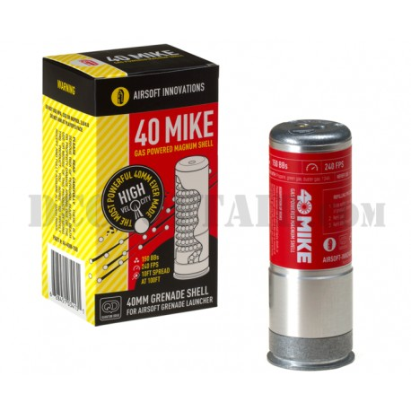 Granata 40 Mike Gas Powered Magnum Shell