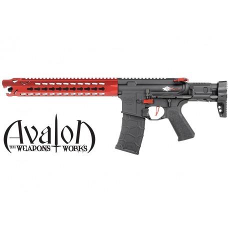Avalon Leopard Carbine Red Full Metal Vfc
