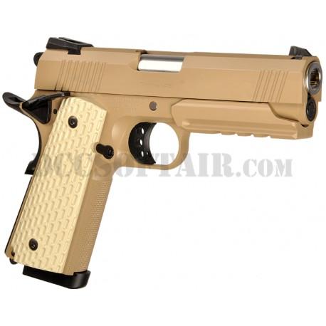 Pistola Hi-Capa 4.3 Desert Warrior Gas T.Marui