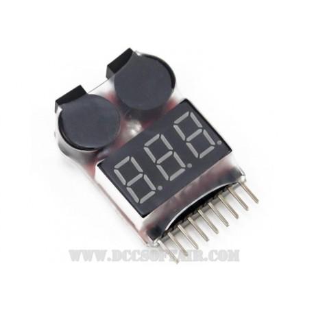 Tester Digitale Per Batterie LiPo/LiFe 101
