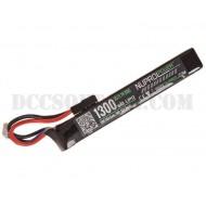 Batteria 7.4Vx1300mAh 20C Lipo Nuprol