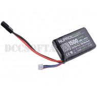 Batteria 7.4Vx1500mAh 20C Peq Lipo Nuprol