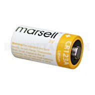 Batteria CR123A 3V Lithium Marsell