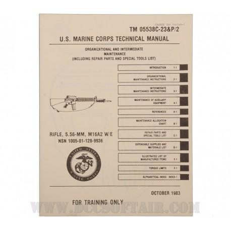 Manuale USMC Carabina M16A2 Cal.5.56mm