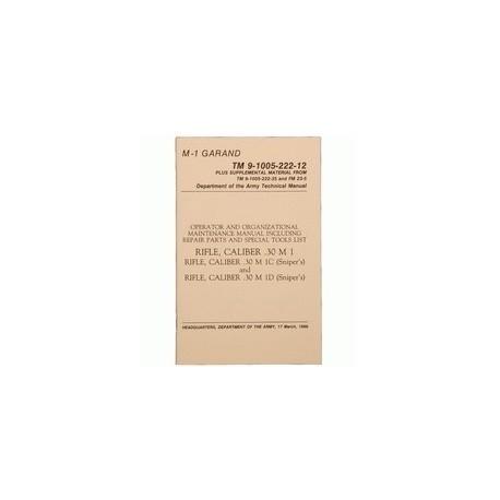 Manuale Carabina M1 Garand Cal.30