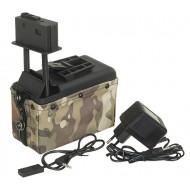 Caricatore Elettrico Per M249/MK46 1500bb A&K
