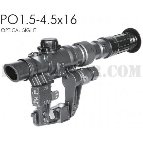 Ottica Npz PO1.5-4.5x16 Per Ak/Saiga