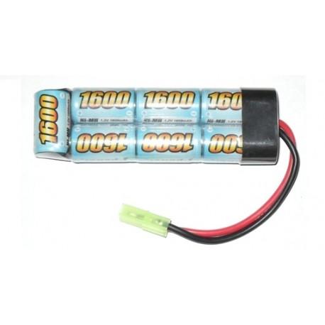 Batteria 8.4Vx1600mAh Mini Type E-Power