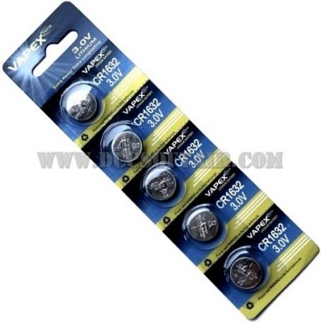 Batteria CR1632 3.0v Lithium Vapex