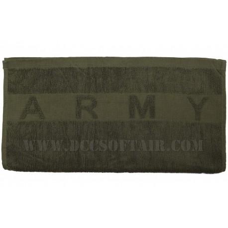 Asciugamani Large Olive Army