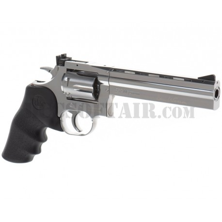 """Dan Wesson 715 6"""" Co2 Silver Asg"""