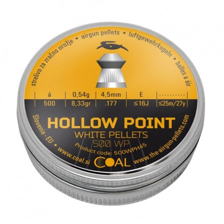 Piombini Hollow Point 500 WP Cal. 4,5mm Coal
