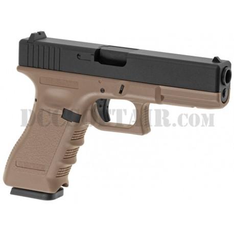 Glock G17 Co2 Kjw KP-17 DE Metal Version