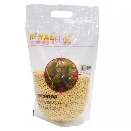 Pallini 0.12gr Precision Gialli Royal