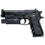 Beretta 92 Custom a Molla Con Laser A&K