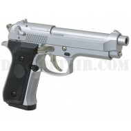 Beretta 92FS Gas Silver STTI