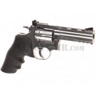 """Dan Wesson 715 4"""" Co2 Silver Asg"""